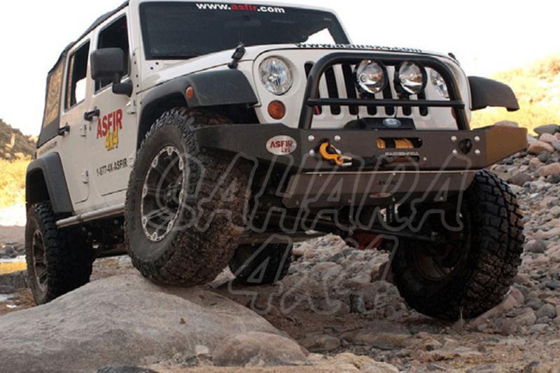 Parachoques ASFIR Jeep Wrangler JK 07