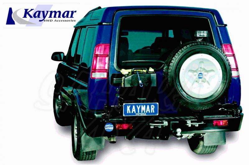 Parachoques Trasero Kaymar Discovery II - Configurar el paragolpes.