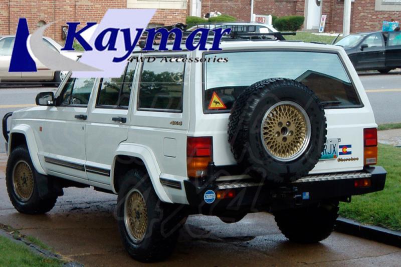 Parachoques Trasero Kaymar Cherokee XJ - Configurar el paragolpes.