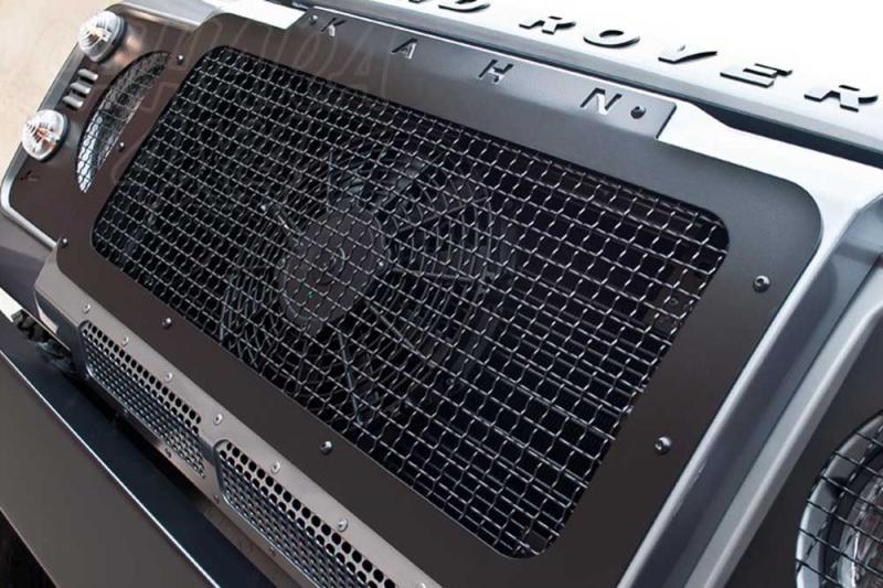 Calandra delantera KAHN Metalica para Land Rover Defender - Valido para Land rover defender año 1989 - 2013