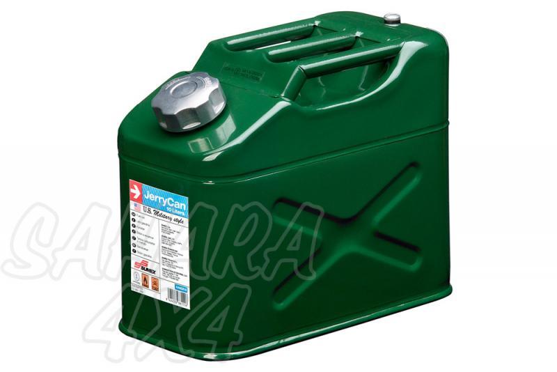 Bidon 10 L metalico Americano - Bidon Metalico militar para diesel o gasolina