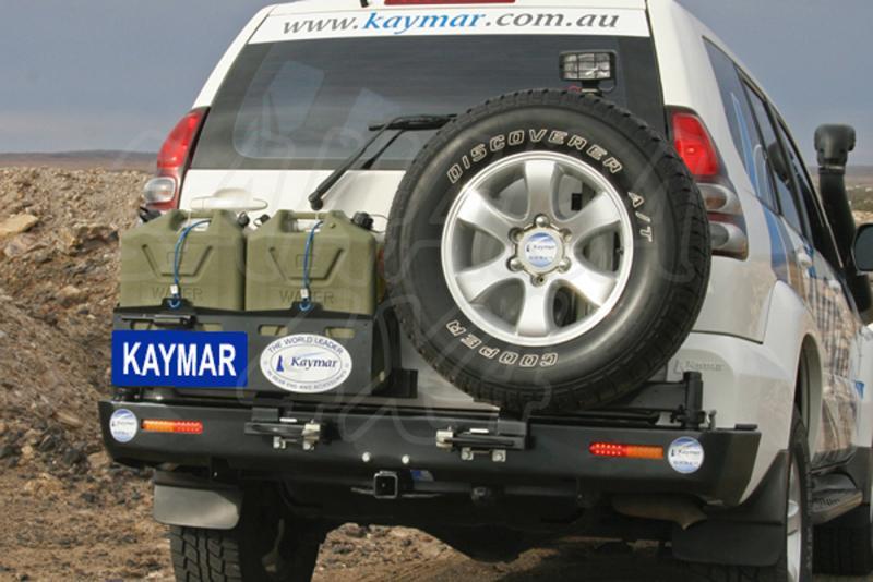 Parachoques Trasero Kaymar Toyota KDJ 120 - Configurar el paragolpes.