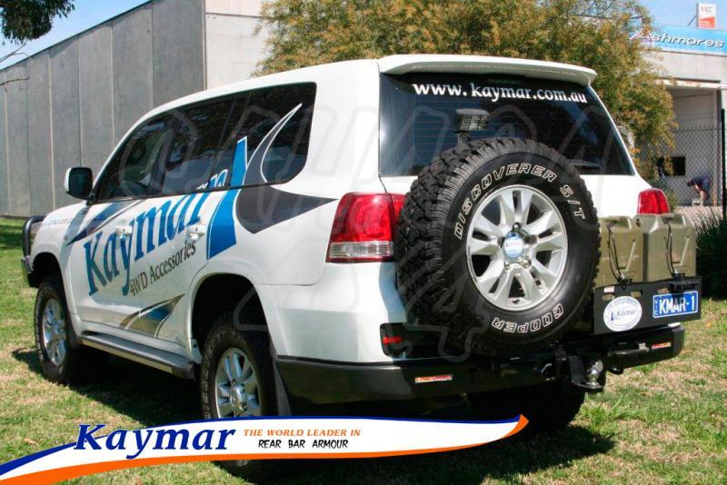 Parachoques Trasero Kaymar HDJ 200 - Configurar el paragolpes.
