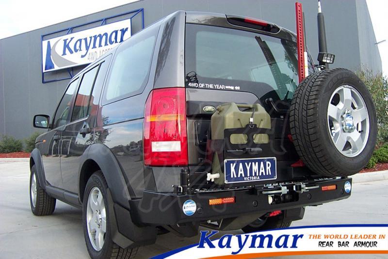 Parachoques Trasero Kaymar Discovery III - Configurar el paragolpes.