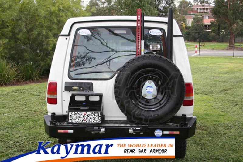 Parachoques Trasero Kaymar Discovery I - Configurar el paragolpes.