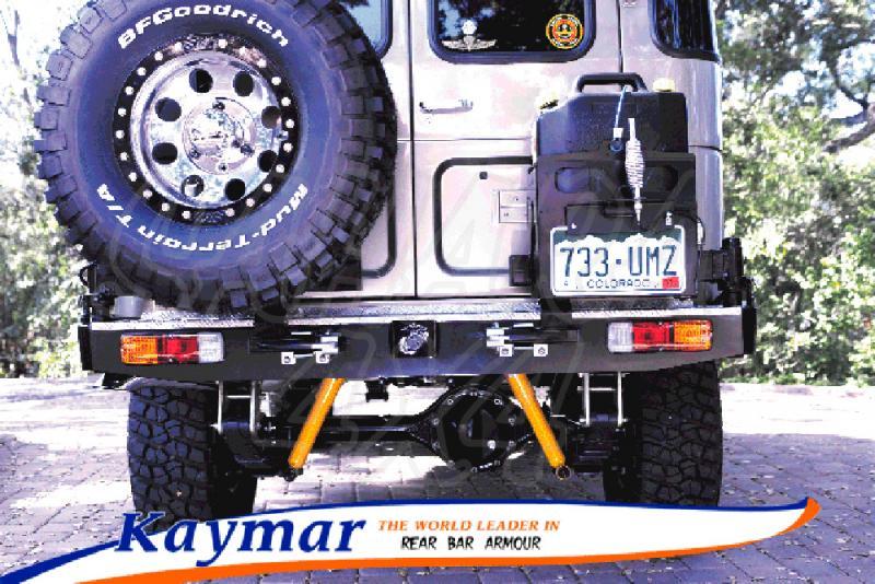 Parachoques Trasero Kaymar BJ 40 - Configurar el paragolpes.