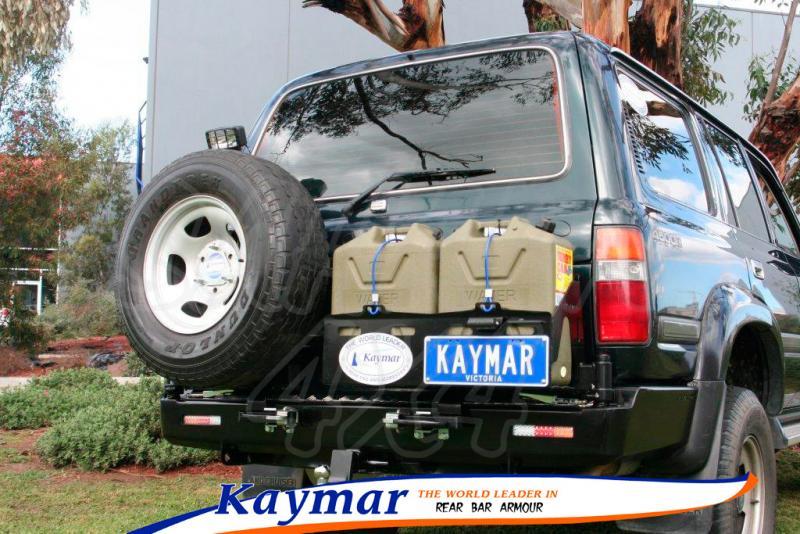 Parachoques Trasero Kaymar HDJ 80 - Configurar el paragolpes.