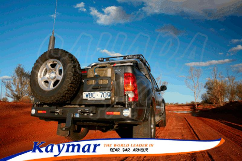 Parachoques Trasero Kaymar Toyota Hilux Vigo  - Configurar el paragolpes.
