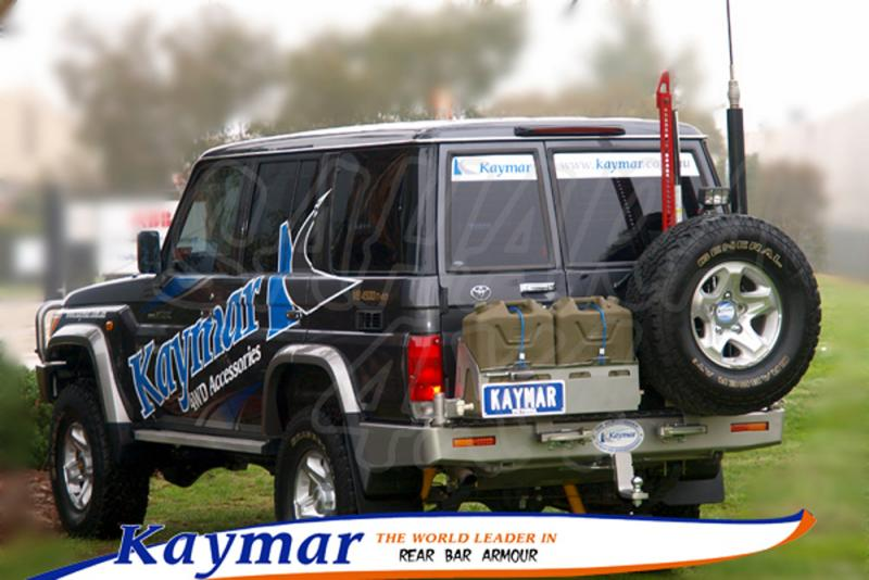 Parachoques Trasero Kaymar HZJ 76 - Configurar el paragolpes.