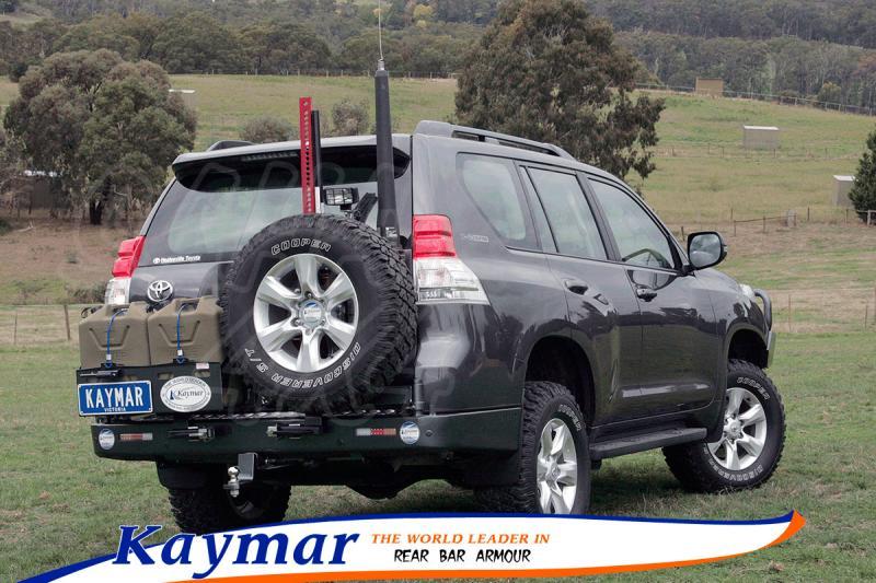 Parachoques Trasero Kaymar Toyota 150/155 - Configurar el paragolpes.