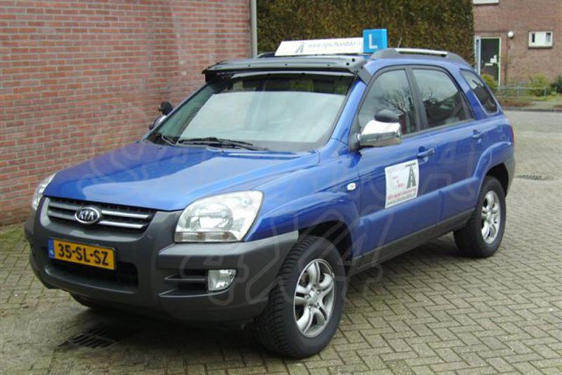 Parasol del cristal delantero, Kia sportage 2006> - Kia sportage modelo 2006