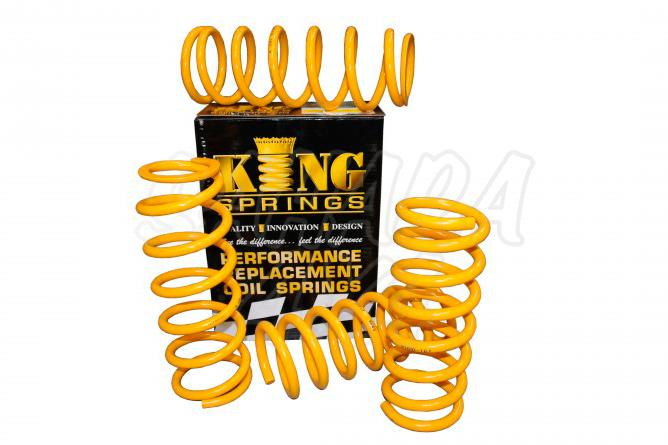 Kit de Muelles +40mm King Spring Jeep Grand Cherokee WJ/WG - El kit consta de los 4 Muelles.