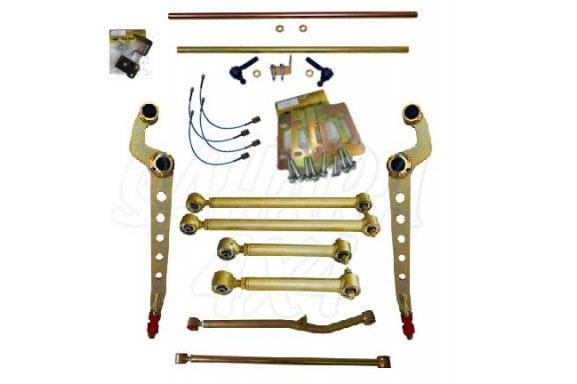 Kit Completo Extreme de Suspensión para Nissan Patrol GR Y61 - Kit de accesorios recomendables para elevaciones a partir de +7.5cm