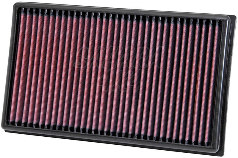 Filtro K&N Air Filter para reemplazo para Volkswagen T2/T3 1981-1992 - K&N 33-2001: Alto 4 cm x Largo 33.3 cm x Ancho 12.7 cm