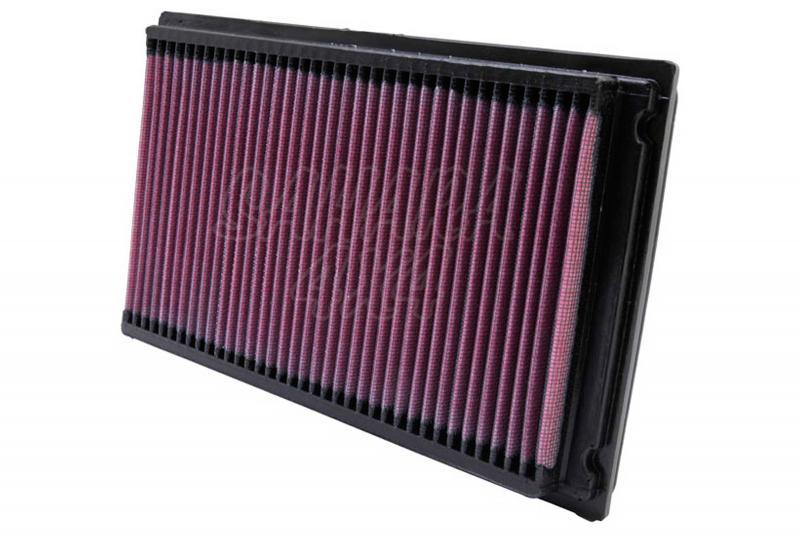 Filtro K&N Air Filter para reemplazo para Nissan y Ford - K&N 33-2031-2: Alto 2.9 cm x Largo 27.9 cm x Ancho 16.7 cm.