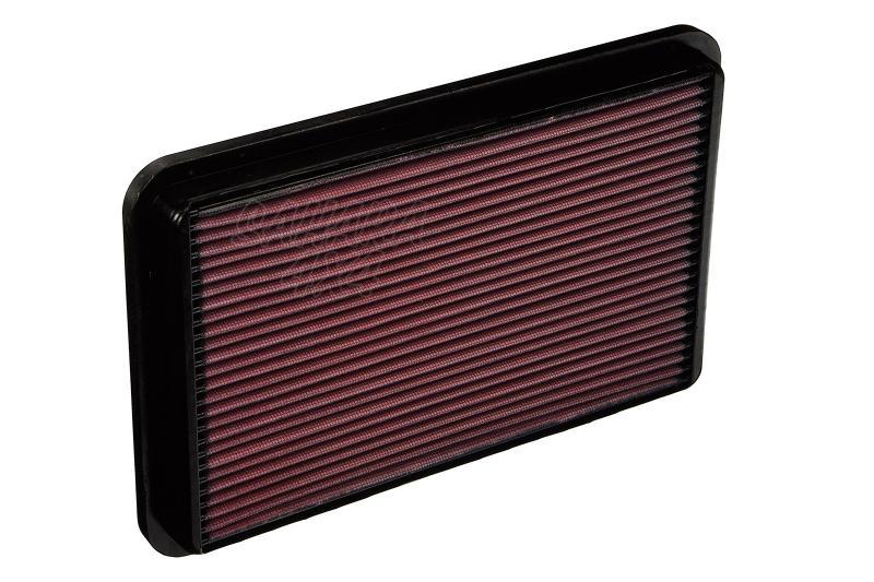 Filtro K&N Air Filter para reemplazo Isuzu Trooper/Opel Monterey - K&N 33-2064: Alto 2.5 cm x Largo 31.1 cm x Ancho 20.2 cm.