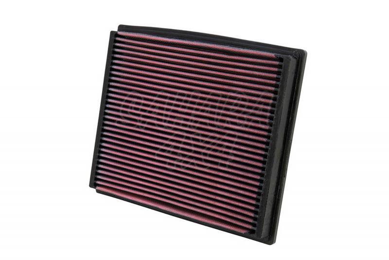 Filtro K&N Air Filter para reemplazo para Audi Allroad Gasolina/Diesel - K&N 33-2125: Alto 1,9 cm x Largo 25,1 cm x Ancho 21 cm (Especificar motor)