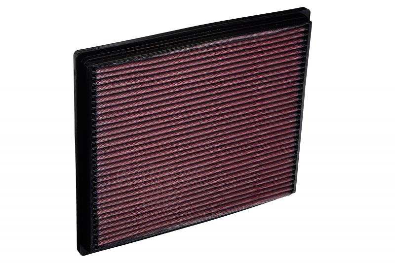 Filtro K&N Air Filter para reemplazo Jeep Grand Cherokee 1999-2005 - K&N 33-2139: Alto 2.2 cm x Largo 28.9 cm x Ancho 24.6 cm.