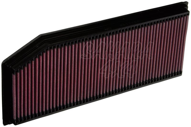 Filtro K&N Air Filter para reemplazo Mercedes Benz Clase G 270CDI Diesel(01-06)/Clase M ML270 CDI   - K&N 33-2158: Alto 2.7 cm x Largo 37.3 cm x Ancho 15.2 cm.