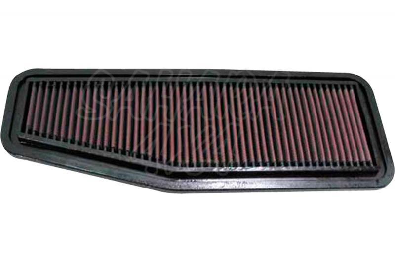 Filtro K&N Air Filter para reemplazo Toyota RAV4 2.0 Gasolina(00-06) - K&N 33-2216: Alto 1.9 cm x Largo 31.6 cm x Ancho 13.7 cm.