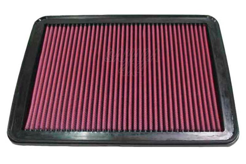 Filtro K&N Air Filter para reemplazo KIA Sorento  - K&N 33-2271: Alto 2.4 cm x Largo 29.7 cm x Ancho 23.5 cm.
