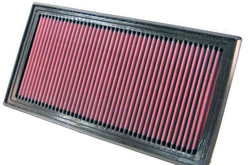 Filtro K&N Air Filter para reemplazo Jeep Compas/Patriot y Dodge Caliber - K&N 33-2362: Alto 2.5 cm x Largo 33 cm x Ancho 17.1 cm.