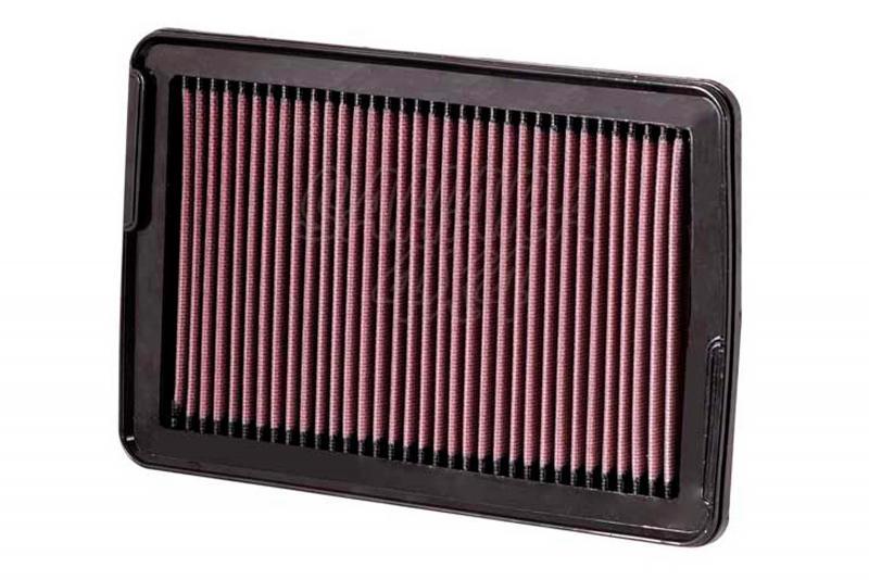 Filtro K&N Air Filter para reemplazo Hyundai Santa Fe 2.7 Gasolina 06-010; 2.2 Diesel