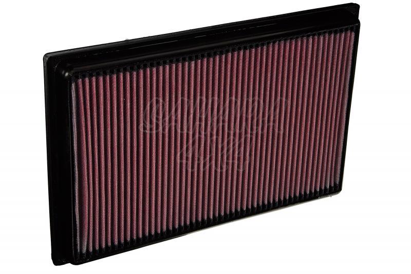 Filtro K&N Air Filter para reemplazo Audi Q3 2.5 Gasolina - K&N 33-2865: Alto 4 cm x Largo 32,1 cm x Ancho 12,7 cm