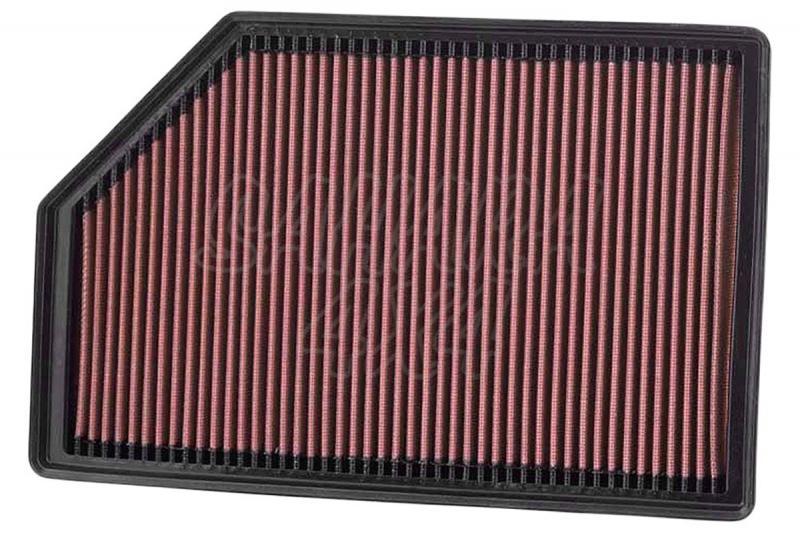 Filtro K&N Air Filter para reemplazo para Volvo XC70/XC60 2005-2015 - K&N 33-2388: Alto 3.2 cm x Largo 22.1 cm x Ancho 34.3 cm.