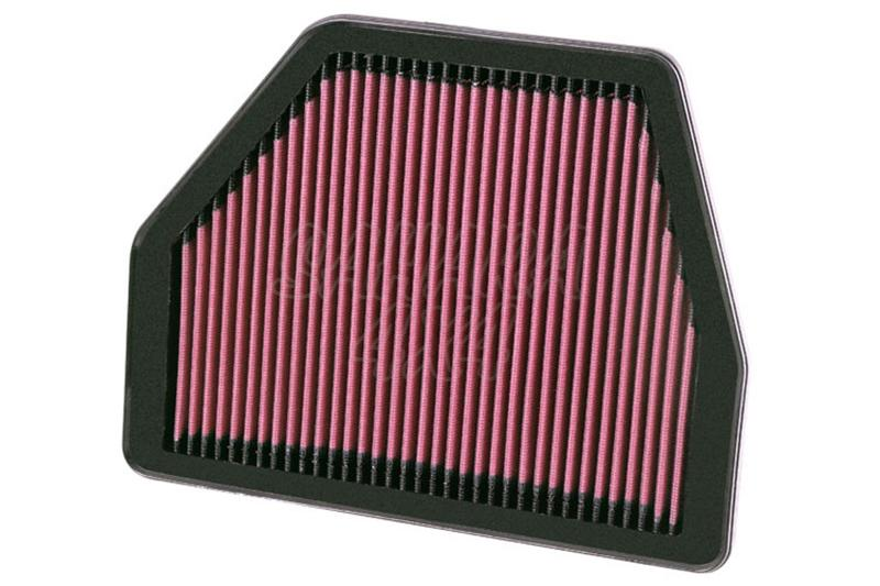 Filtro K&N Air Filter para reemplazo Chevrolet Captiva 3.0 Gasolina/Opel Antara 3.0 Gasolina(11-13)  - K&N 33-2404: Alto 2.5 cm x Largo 28.3 cm x Ancho 22.2 cm.