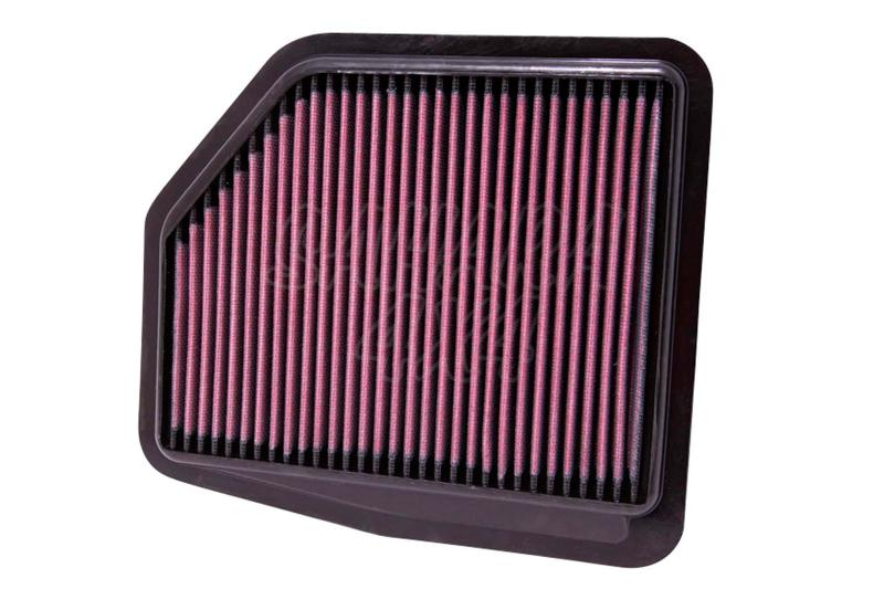 Filtro K&N Air Filter para reemplazo Suzuki Gran Vitara  - K&N 33-2429: Alto 2.2 cm x Largo 24.3 cm x Ancho 20 cm.