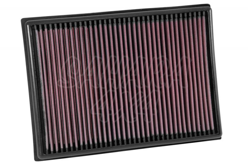 Filtro K&N Air Filter para reemplazo Toyota Land Cruiser 4.0 Gasolina(10-15), 4.5 Gasolina(08-15)