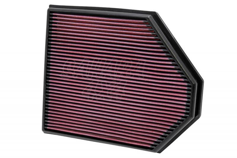 Filtro K&N Air Filter para reemplazo BMW X3(F25)/X4(F26) - K&N 33-2465: Alto 3 cm x Largo 31.4 cm x Ancho 25.7 cm
