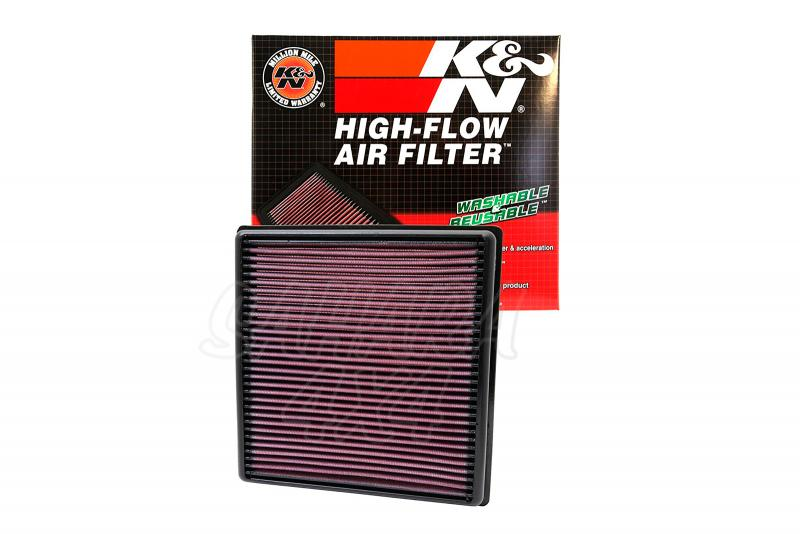 Filtro K&N Air Filter para reemplazo para Fiat Freemont y Dodge Journey