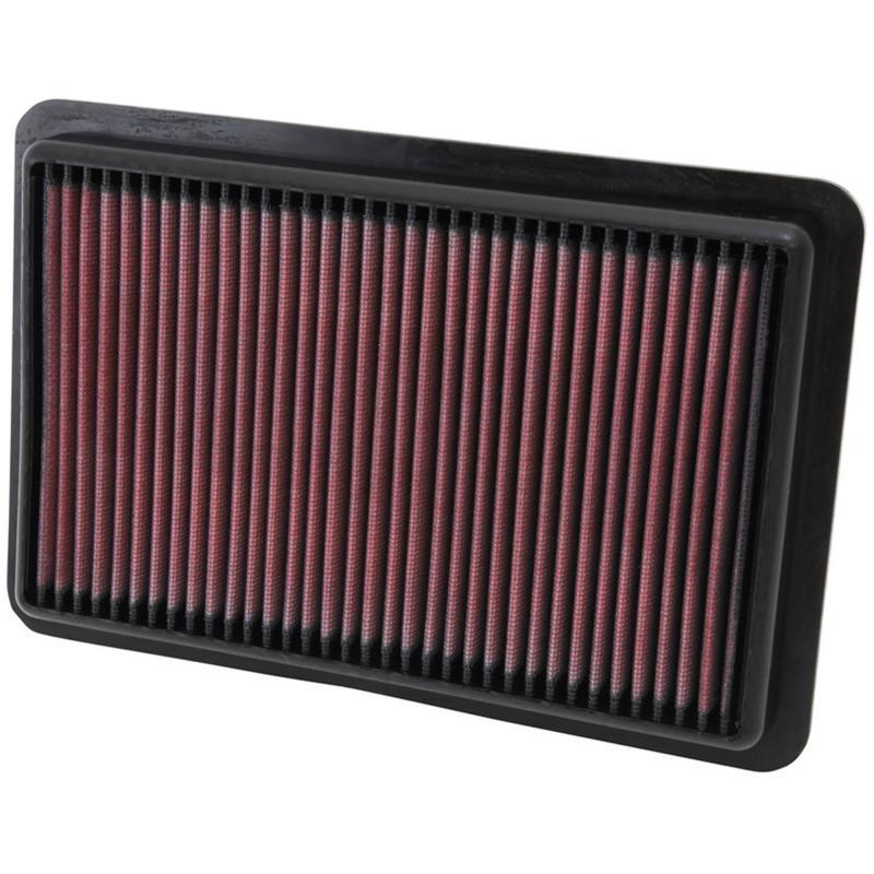 Filtro K&N Air Filter para reemplazo para Mazda CX-5 2012-2015 - K&N 33-2480: Alto 3 cm x Largo 27.3 cm x Ancho 18.1 cm.