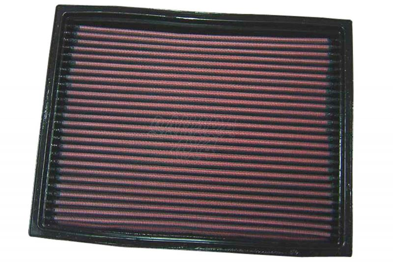 Filtro K&N Air Filter para reemplazo Land Rover Discovery I/Discovery I(MK2)/Range Rover I y II - K&N 33-2737: Alto 2.9 cm x Largo 26.2 cm x Ancho 20.2 cm.
