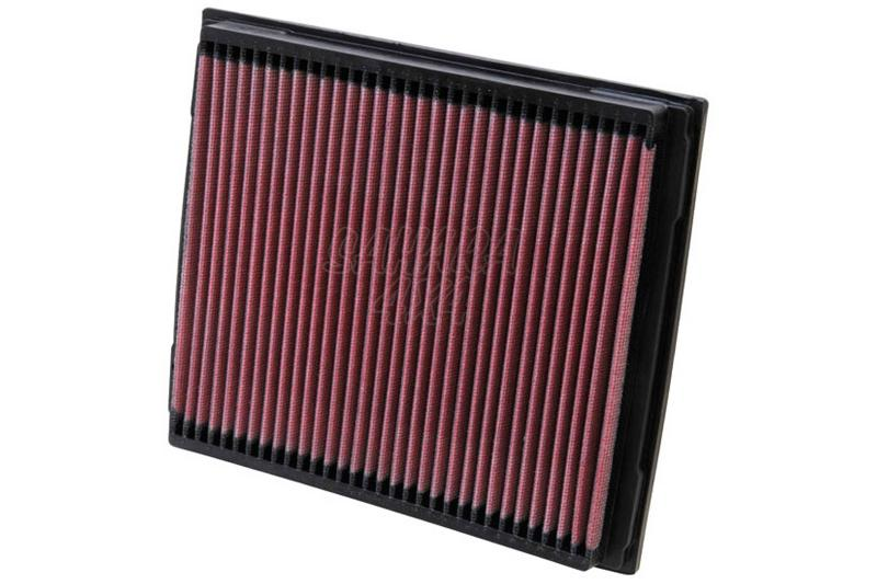 Filtro K&N Air Filter para reemplazo Land Rover Defender/Discovery II/Range Rover II - K&N 33-2788: Alto 3 cm x Largo 20.3 cm x Ancho 23.7 cm.