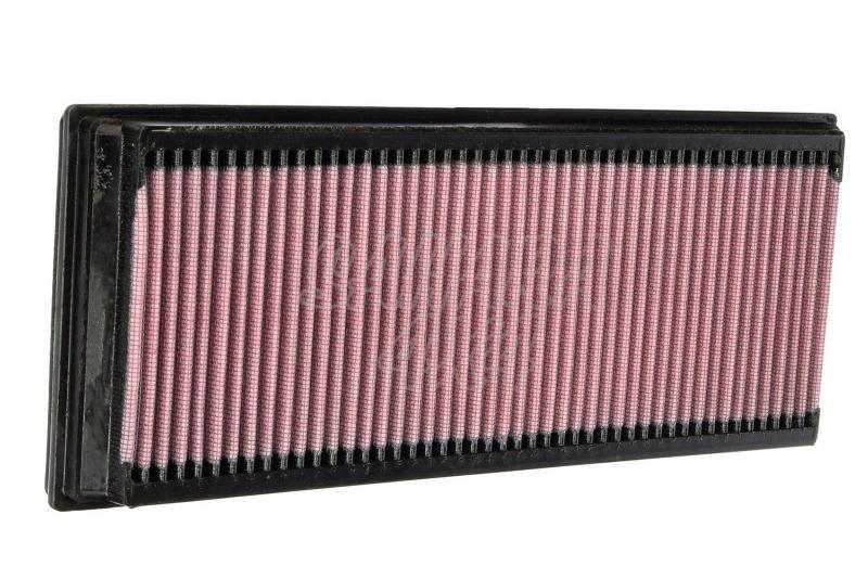 Filtro K&N Air Filter para reemplazo Audi Q3 2.0/Skoda Yeti(5J)/Volkswagen Tiguan - K&N 33-2865: Alto 3 cm x Largo 34,1 cm x Ancho 13,5 cm