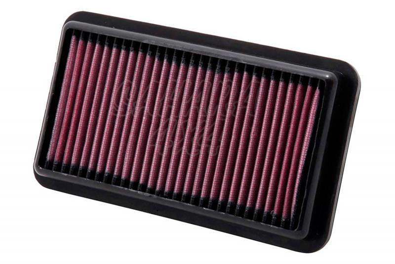 Filtro K&N Air Filter para reemplazo Suzuki SX4 1.5 Gasolina(06-10), 1.6 Gasolina(06-10) 109Hp - K&N 33-2954: Alto 2.9 cm x Largo 22.2 cm x Ancho 12.1 cm.