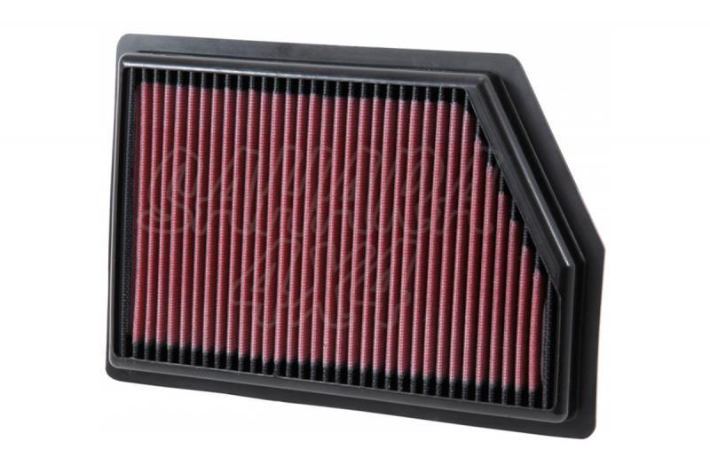 Filtro K&N Air Filter para reemplazo para Volvo XC90 2009-2014 - K&N 33-2972: Alto 4.1 cm x Largo 22.5 cm x Ancho 21 cm.