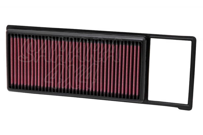 Filtro K&N Air Filter para reemplazo para Fiat Panda II y Panda III - K&N 33-2984: Alto 2.4 cm x Largo 35.6 cm x Ancho 13.3 cm.