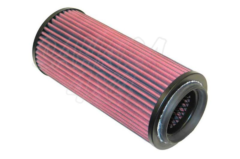 Filtro K&N Air Filter para reemplazo Nissan Patrol(K260)/Patrol(W260)/Patrol GR I(Y60)/Terrano - K&N 38-9102: Alto 28.1 cm x diametro interior 7.2 cm x diametro exterior 13.3 cm.