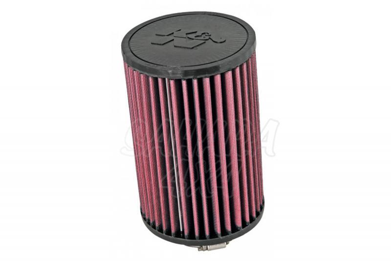 Filtro K&N Air Filter para reemplazo para Dodge Nitro SRT-4 - K&N E-1988 : Alto 18,4 cm x Diametro exterior 12,4 cm