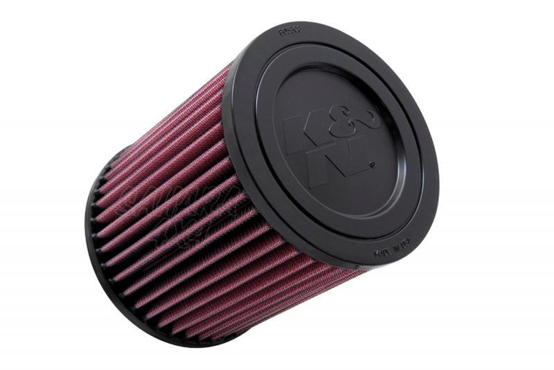 Filtro K&N Air Filter para reemplazo Jeep Compas/Patriot - K&N E-1998: Alto 15.7 cm x diametro exterior 13.7 cm.