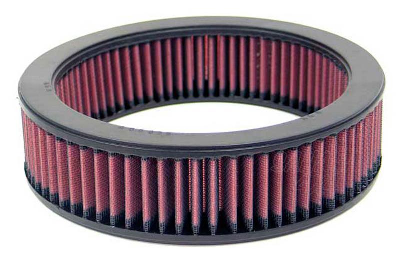 Filtro K&N Air Filter para reemplazo Lada Niva  - K&N E-2670: Alto 6 cm x diametro interior 18.1 cm x diametro exterior 22.9 cm.