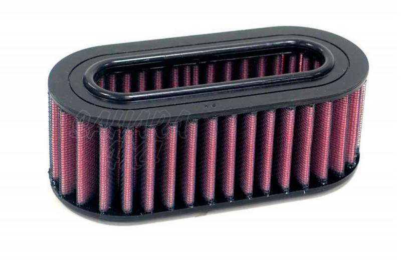 Filtro K&N Air Filter para reemplazo Range Rover I 3.5 Carburador (70-90) - K&N E-9098 : Alto 5.4 cm x diametro interior 16.5 cm x diametro exterior 7.6 cm