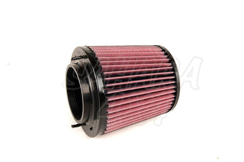 Filtro K&N Air Filter para reemplazo Audi Q5 3.0 Gasolina/Diesel; 3.2 Petrol