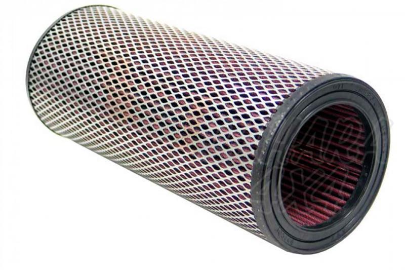 Filtro K&N Air Filter para reemplazo JEEP Cherokee - Version con filtro redondo