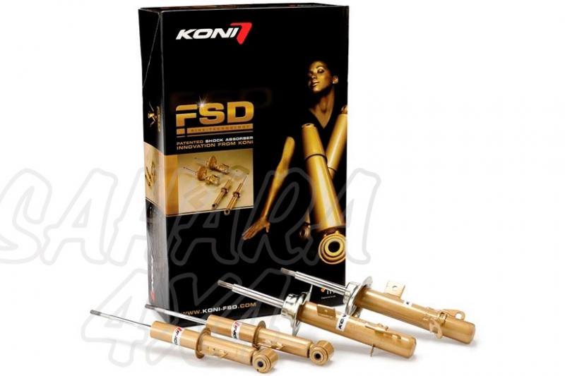 Kit de Amortiguadores Koni FSD Sportage 2010- - Kit de 4 amortiguadores.