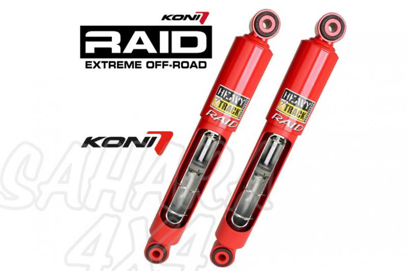 Kit 4 Amortiguadores Koni Heavy Track Raid Hilux Pick Up +50mm